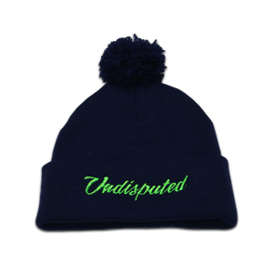 GAME DAY Beanie - Navy w/ POM