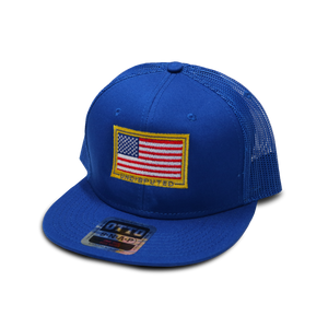 Stars and Stripes Otto Snapback - Blue