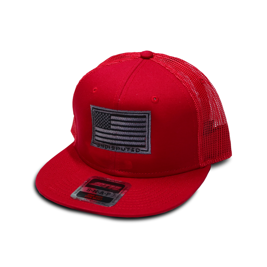 Stars and Stripes Otto Snapback - Red