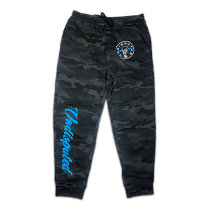 GAME DAY Black Camo Sweatpants