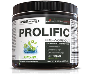 PEScience Prolific Stimulant-Based Pre-Workout