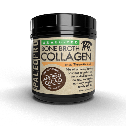 PaleoPro Grass-Fed Bone Broth Collagen™ + Turmeric