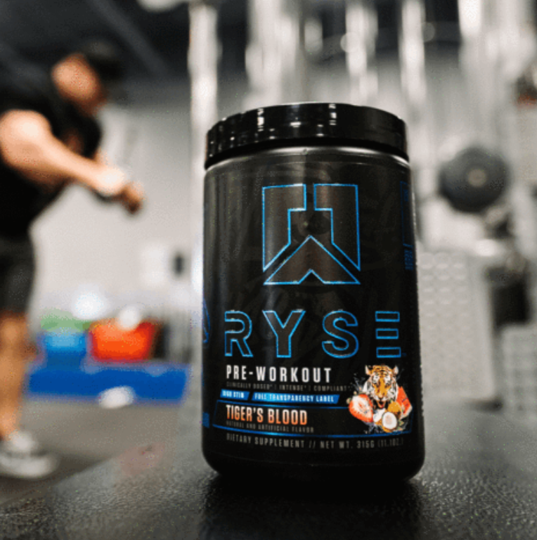 RYSE PROJECT BLACKOUT : Pre-Workout