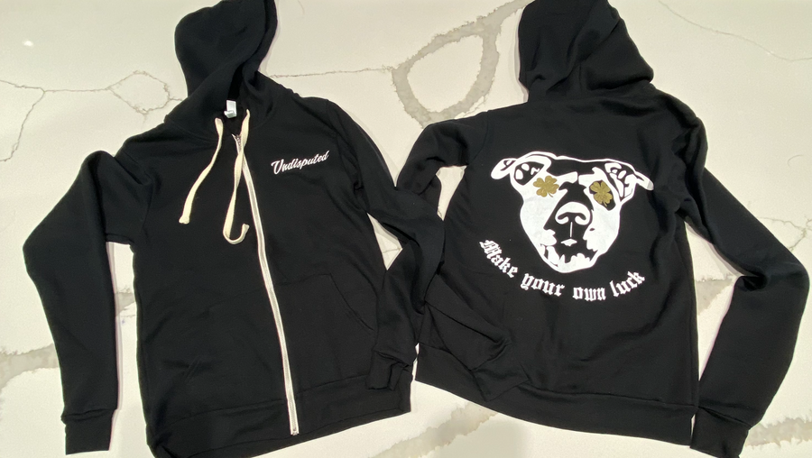 Make Your Own Luck Zip Up