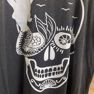T-Shirt UNC Skull Mermaid