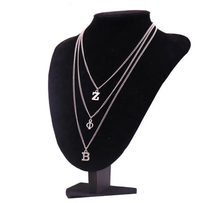 ZΦΒ Charm Necklace - Fashionably Zeta