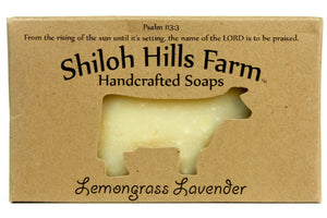 Lemongrass Lavender Soap