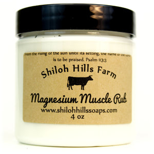 Magnesium Muscle Rub