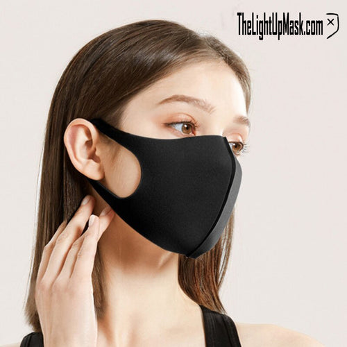 3 Pack | Face Mask | Reusable & Washable | Rave Gear | Dust Mask Festival Cosplay Halloween