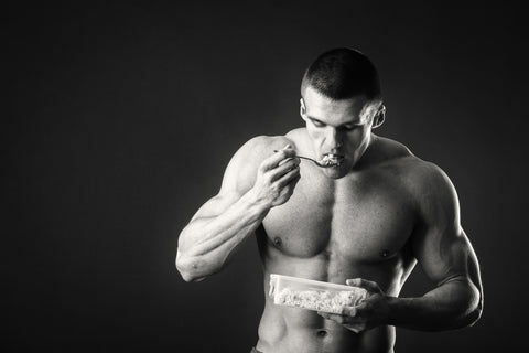 Men's fitness food