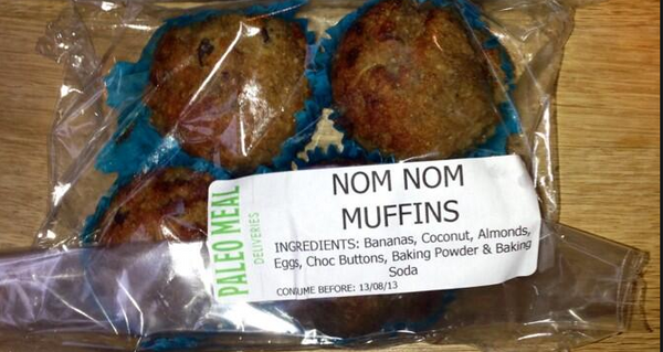 Monthly supply of muffins (25g positive fats)