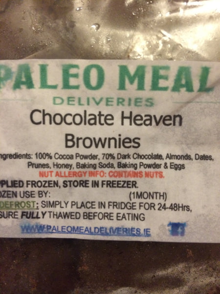 Monthly Supply of Paleo Brownies (25g positive fats)