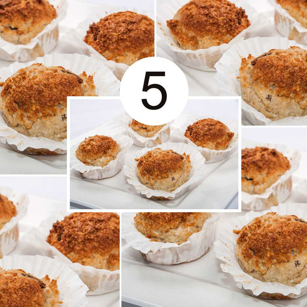 Banana & Choc Chip Muffins 5 Pack Bundle (Best Value)