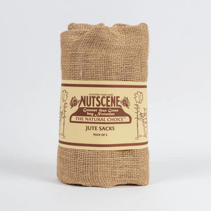 Hessian Jute Storage Sacks (pair) - The Cottage Gardener