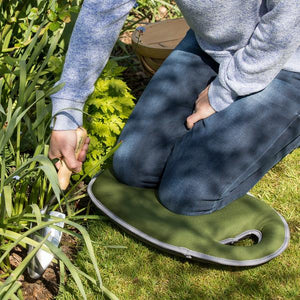 Burgon & Ball Kneelo™ Kneeling Pad (Moss) - The Cottage Gardener