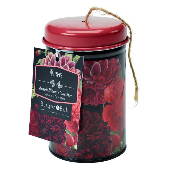 RHS British Bloom Twine Tin - The Cottage Gardener