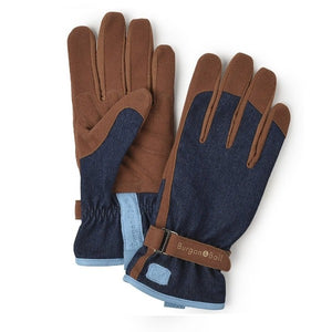 Gardening Gloves - Denim - The Cottage Gardener