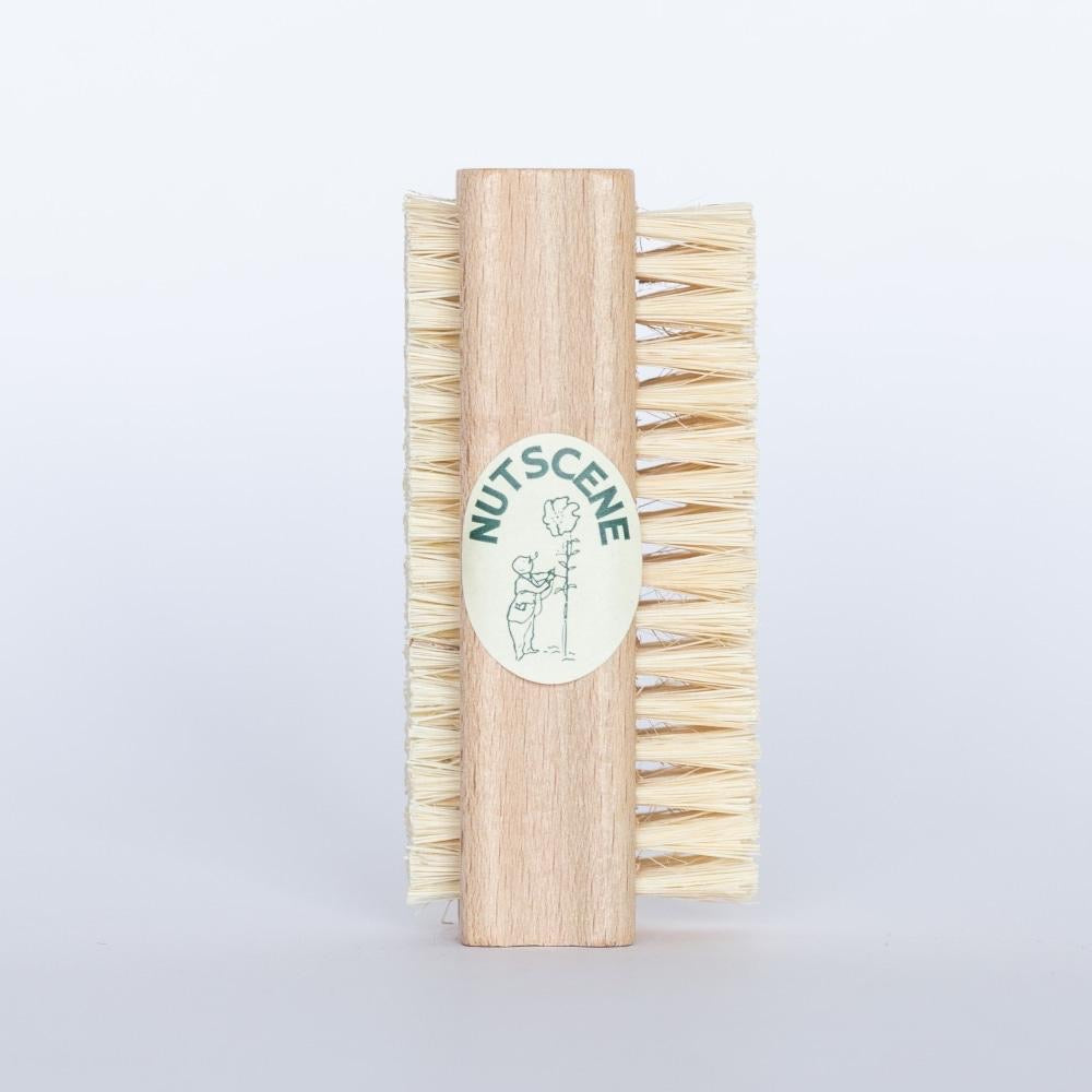 Dual Sided Nail Brush - The Cottage Gardener