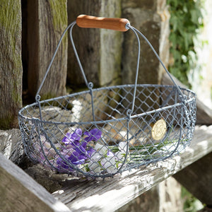 Sophie Conran Harvesting Basket (Large) - The Cottage Gardener