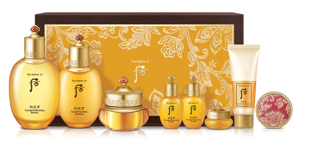 Gongjinhyang Essential Moisturizing 3 Piece Set - Blooming Cosmetics