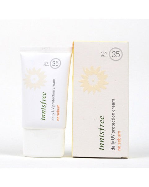 Daily UV Protection Cream No Sebum SPF 35 / PA+++ - Blooming Cosmetics