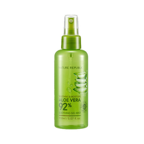 Soothing & Moisture Aloe Vera 92% Soothing Gel Mist - Blooming Cosmetics