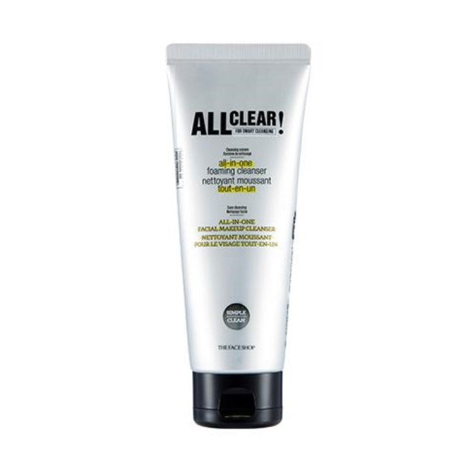 All Clear All-In-One Foaming Cleanser - Blooming Cosmetics