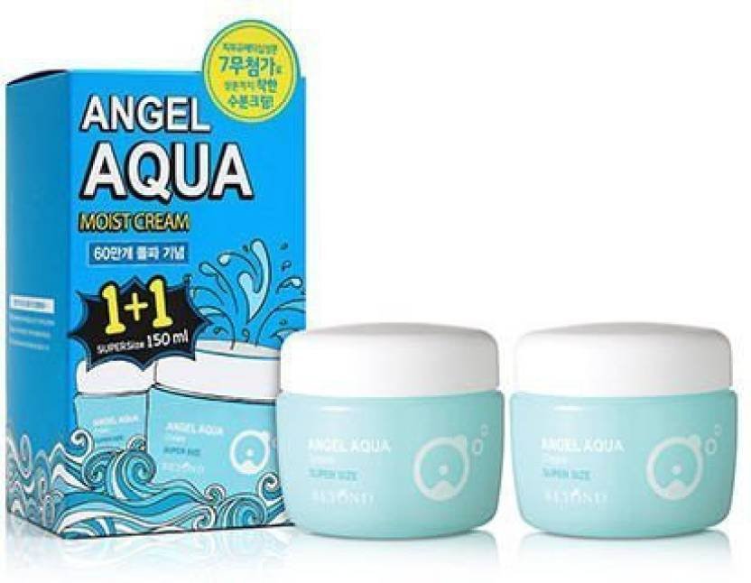 Angel Aqua Moist Cream 2 Pack - Blooming Cosmetics