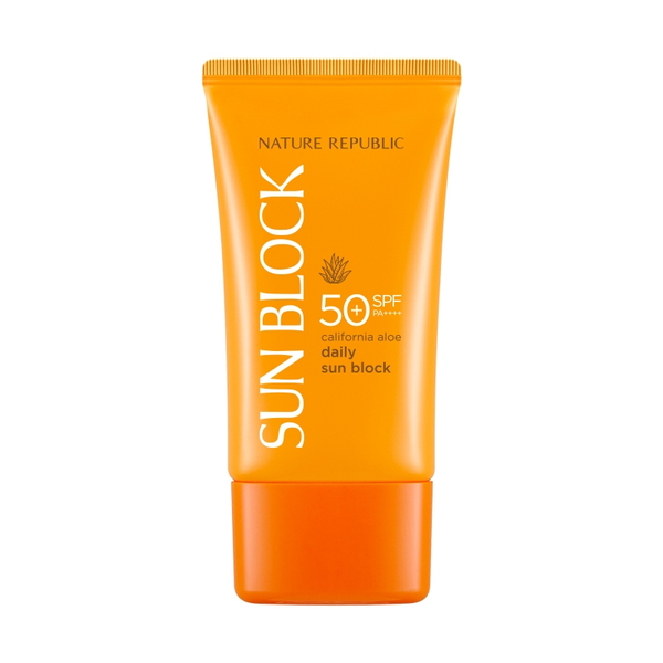 California Aloe Daily Sun Block SPF 50+ / PA++++ - Blooming Cosmetics