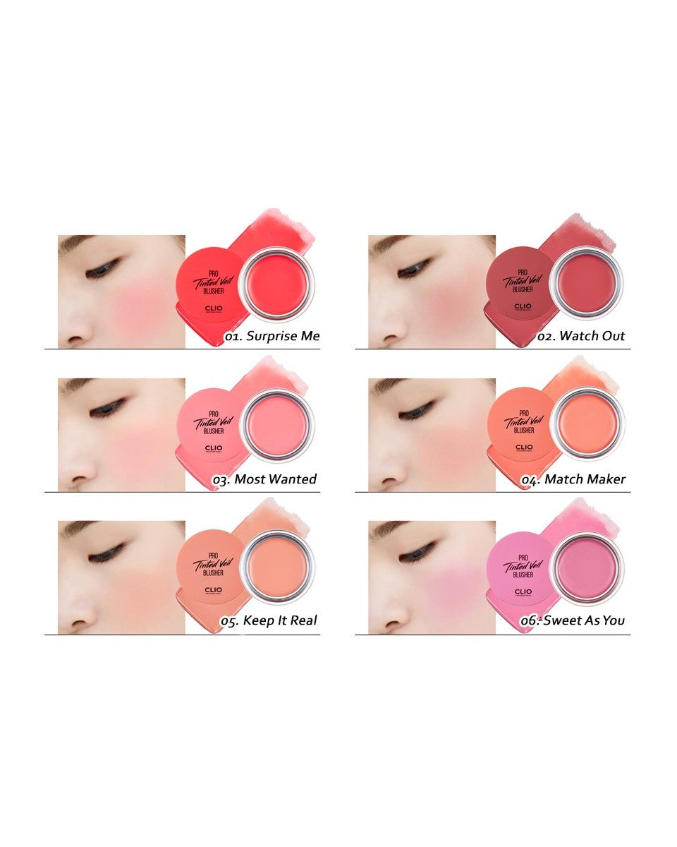Pro Tinted Veil Blusher - Blooming Cosmetics