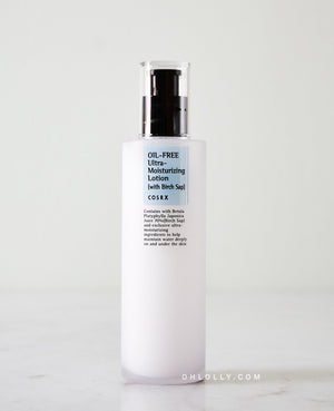Oil-Free Ultra-Moisturizing Lotion with Birch Sap - Blooming Cosmetics