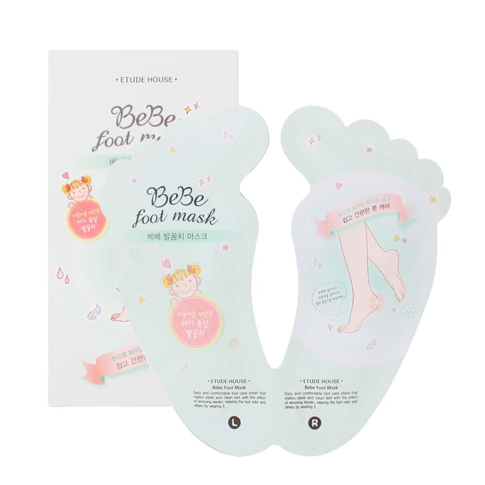 BeBe Foot Mask - Blooming Cosmetics