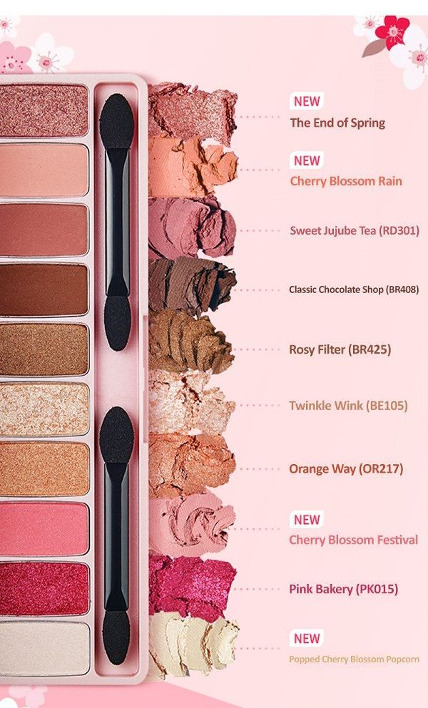 Play Color Eyes #Cherry Blossom - Blooming Cosmetics
