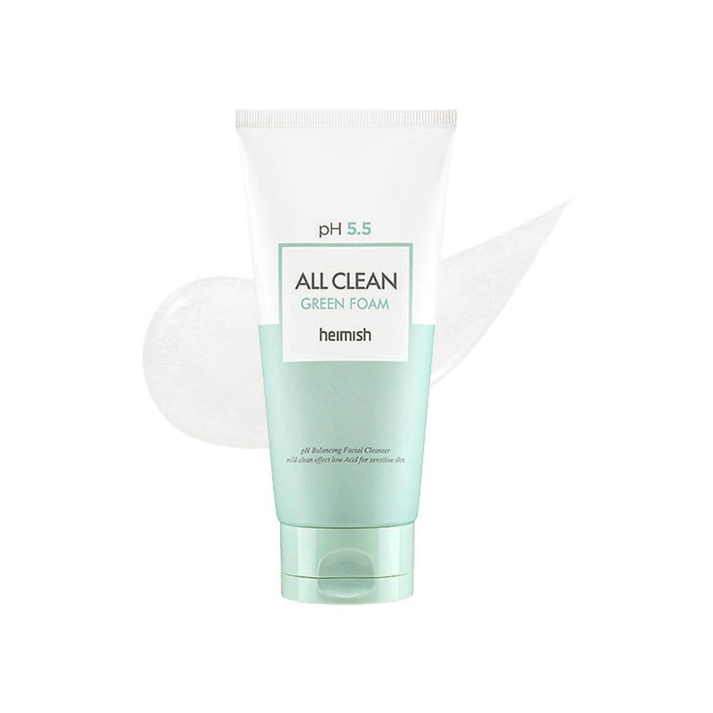 All Clean Green Foam pH 5.5 - Blooming Cosmetics