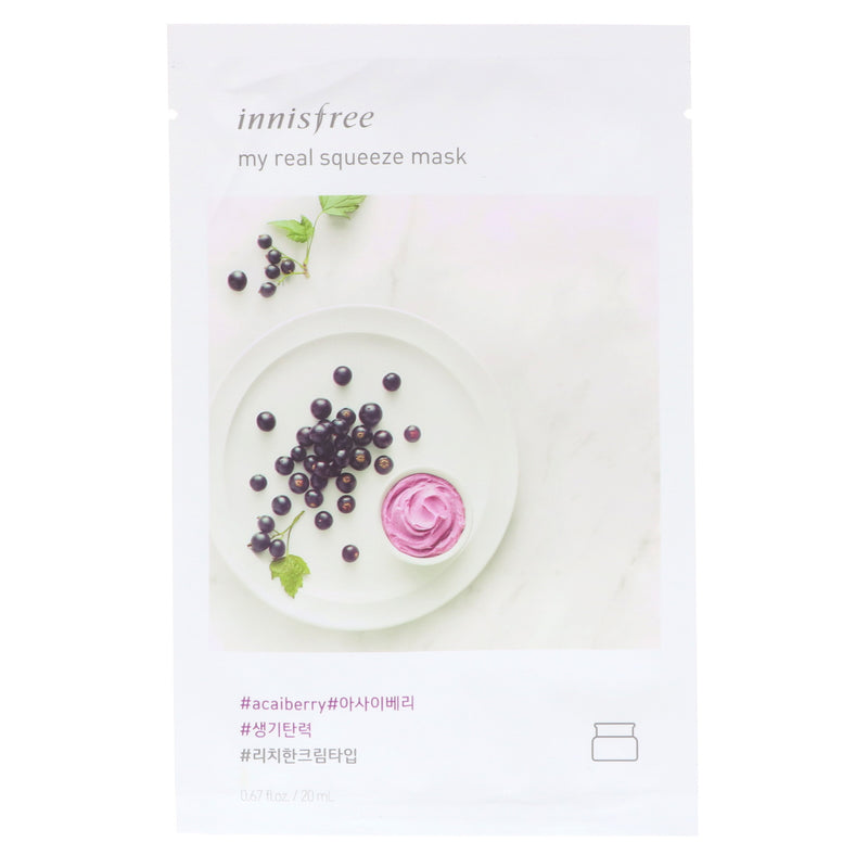 My Real Squeeze Mask #AcaiBerry - Blooming Cosmetics