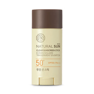 Natural Sun Clear Sunscreen Stick SPF 50+ / PA++++ - Blooming Cosmetics