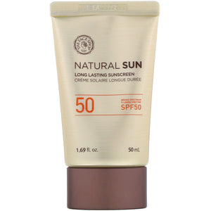 Natural Sun Long Lasting Sunscreen SPF 50 - Blooming Cosmetics