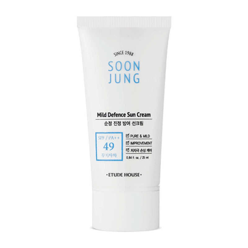Soon Jung Mild Defence Sun Cream SPF 49 / PA++ - Blooming Cosmetics