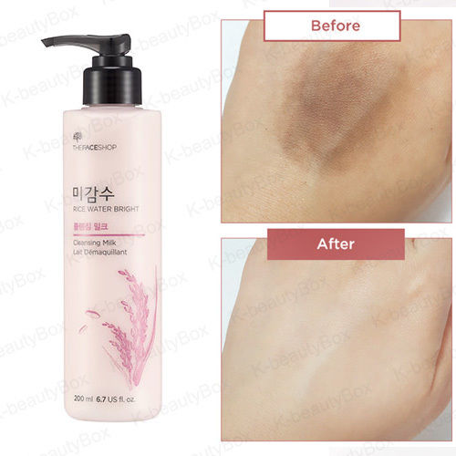 Rice Water Bright Cleansing Lotion - Blooming Cosmetics
