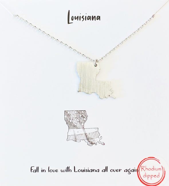 Fall In Love With Louisiana Necklace
