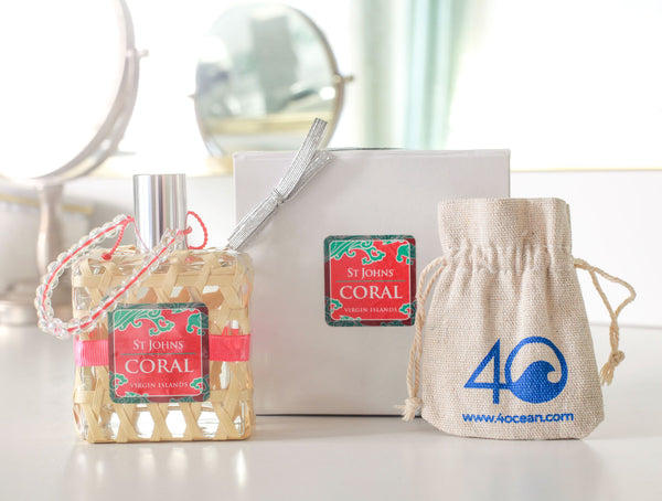 4Ocean Bracelet & Coral Perfume Gift Set for Women