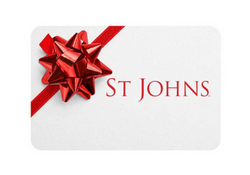 St Johns Gift Cards: A Luxury Gift for Men or Women.