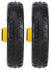"R-Trac Rear Wheel 2-Pack, 8"" x 2"" No-Flat (Pair of wheels for R6 & R8), Offset Hub"