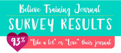 Our Survey Says: People LOVE the Believe Training Journal!