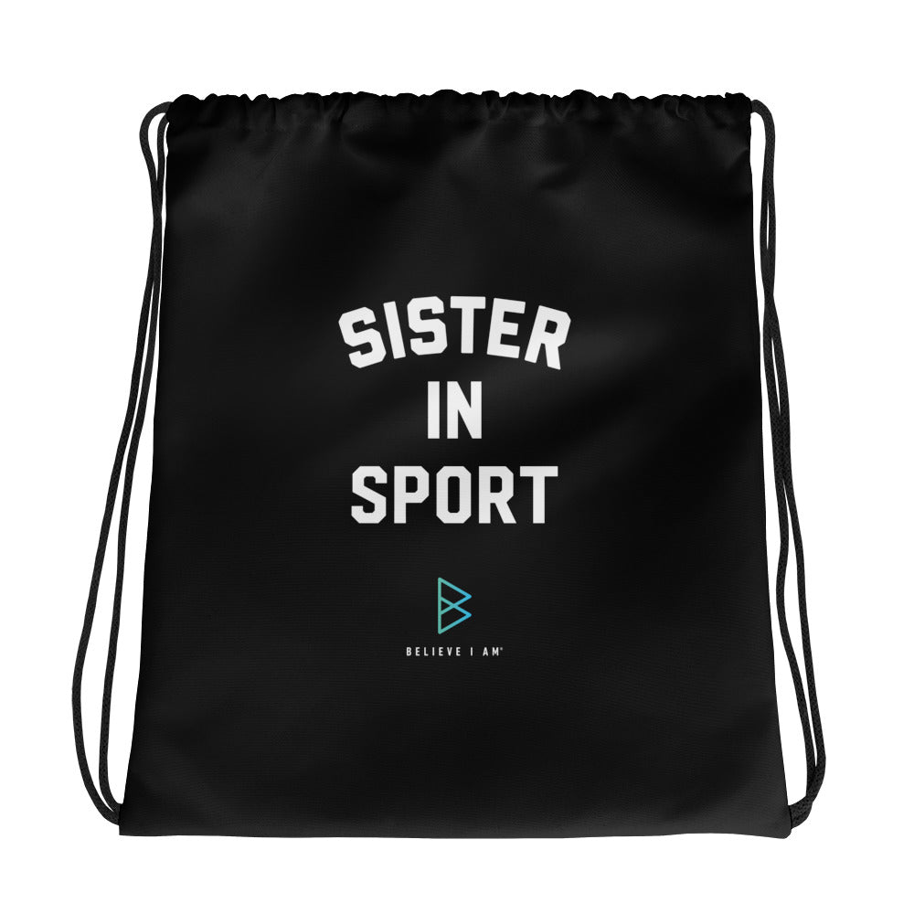 Sister in Sport – Drawstring bag
