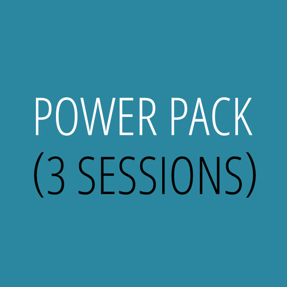Power Pack – 3 Sessions