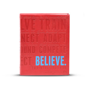 Believe Training Journal (Red)