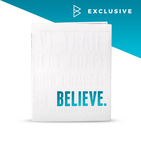 Believe Training Journal (NEW – SNOW *Pre-order)