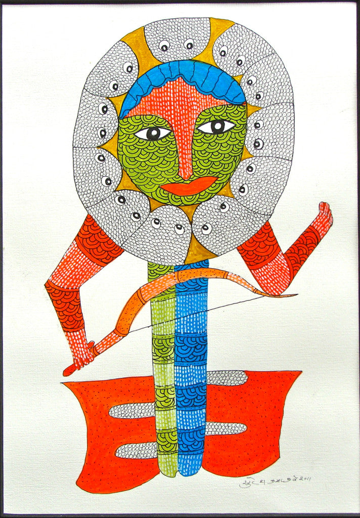 Gond Art, Tribal and Folk Art from India - DeccanFootprints