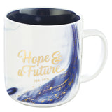 Blue Hope & a Future Coffee Mug - Jeremiah 29:11
